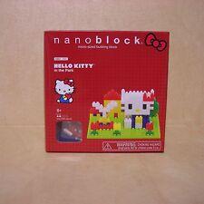 New Hello Kitty Nanoblock In The Park Kit NBH_055 Sanrio Flowers  Micro-Sized