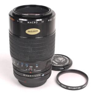 Kiron 105mm F2.8 Macro f/Canon FD - A Beauty w/MINT Glass