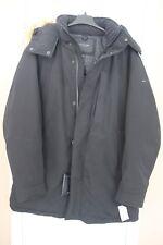 Marc New York Andrew Marc Hooded Down Parka Coat Men Black Size 2XLT