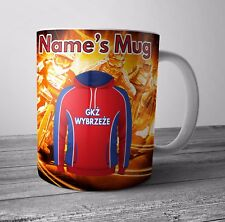 Speedway Personalised Mug / Cup - GKS Wybrzeze Themed Gift - Any NAME