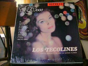 SEALED TEX MEX LATIN LP~LOS TECOLINES~MIA~SERGIO FLORES~on PEERLESS
