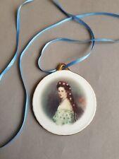 Kaiserin Elisabeth (Sissi) Anhänger Vom Reutter Porzellan