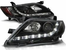 toyota camry 6 xv40 2006 2007 2008 2009 headlights lpto16 daylight black