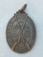 Antique Edwardian National Rifle Association Bronze Medal - NRA, Rifle Clubs, SS
