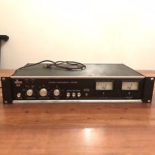 DBX 162 Vintage Stereo Compressor Rack w/Pigtails