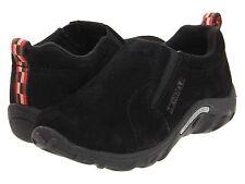 Merrell Black Nubuck Slip-On Jungle Moc  Shoes Little Boys Size 10 1/2 M