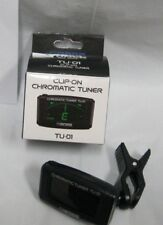 boss tuner tu-01 clip chromatic tuner guitar clip on tuner tu-01