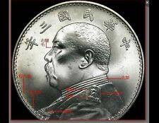 #13U China Republic Yuan Shih Kai Silver Dollar $1 Types e book Ebook CD DVD