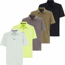 Oakley Polyester Short Sleeve Golf Shirts & Sweaters for Men
