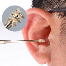 Cleaner Earwax Removal Spiral Ear Pick Stainless Steel EarPick Double Ended