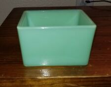 Martha Stewart By Mail MBM Fenton Jadeite Jadite Green Glass Box Jar