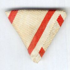 HUNGARY. Trifold ribbon for the Commemorative Medal for World War I,combatant