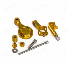 Steering Damper Mounting Kit For Yamaha YZF-R1 2009-2012 YZF-R6 06 07 08-15 Gold