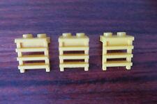 LEGO 4175  -  JAUNE / YELLOW   X 3