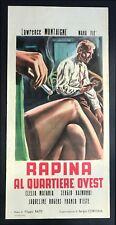 cartel de la película ROBO EN BARRIO OESTE montaigne,fiè, matania, RATAS