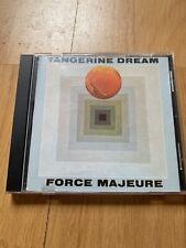 Tangerine Dream 'Force Majeure' CD 1984