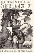 ADAM HUGHES SIGNED SKETCHBOOK MARA JADE POWER GIRL STAR WARS BLACK WIDOW PHOENIX
