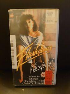 Flashdance - Precert   - Rare  -    vhs original - CIC Release
