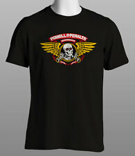 Powell Peralta Skull & Wings Retro Skate T Shirt