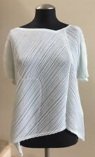 NWOT PLEATS PLEASE ISSEY MIYAKE Short Sleeve Pleated Top Blouse, Size 3