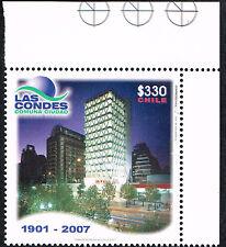 CHILE 2007 STAMP # 2222 MNH LAS CONDES CORNER OF SHEET