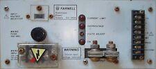 Farnell STABILIZZATO ALIMENTATORE g5-120a 600 WATT O/messo 5v IP 115-120/220-240v