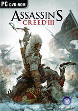 Assassin's Creed III 3 Assassins AC3 AC (PC Game) English New in Box