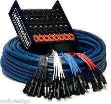 """Whirlwind Medusa Standard Audio Snake: 32 inputs, 10 1/4"""" TRS returns, 200ft"""