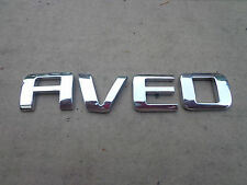 Chevy Chevrolet Aveo emblem letters badge decal logo OEM Factory Stock