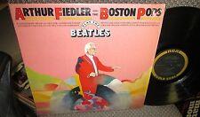 ARTHUR FIEDLER & The Boston Pops PLAY THE BEATLES LP NM US RCA GOLD SEAL 1969