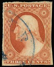 10A, VF-XF USED BLUE TOWN CANCEL - NICE!