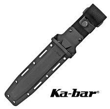 "KA-BAR KYDEX CORDURA TACTICAL SHEATH for 7"" BLADE MARINE KABAR KNIFE KA1216"