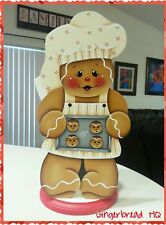 HP Gingerbread   Paper Towel Holder, Gingerbread Decor