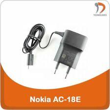 Nokia AC-18E Chargeur Charger Oplader Original Microsoft Lumia Asha N8 N9