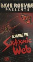 Exposing The Satanic Web VHS by Dave Roever 1989-TESTED-RARE VINTAGE-SHIP N24HRS