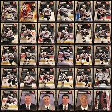 New Jersey Devils 2000-01 Team Issue Card Set of 31 Cards with Martin Brodeur