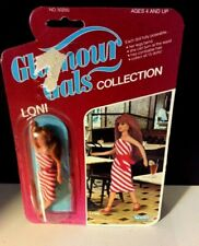 Vintage GLAMOUR GIRL Collection LONI CANDY KISSES  1982 Kenner NRFP #50250