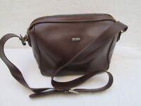 Sac à main style sacoche cuir ZENITH  bag vintage à saisir