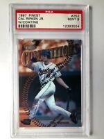 1997 Topps Finest Cal Ripken Jr. Masters W/Coating PSA 9 Baltimore Orioles #252