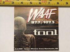 TOOL WAAF Sticker Rare Promo Maynard Keenan