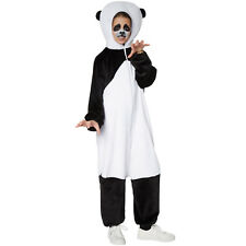 Kinderkostüm Panda Tier Karneval Fasnacht Halloween Jungen Mädchen Junge