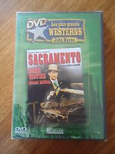 // NEUF DVD * SACRAMENTO *John WAYNE Bennie BARNES MCGANN WESTERN