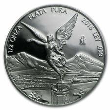 1/2 oz silver LIBERTAD 2016 PROOF BU in capsule