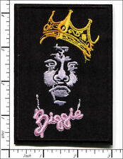 "Notorious BIG Biggie~Hip Hop~Rap~Embroidered Patch~4 1/8"" x 2 7/8""~Iron Sew On"