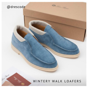 Wintery Walk Loafers Spring Coffee, Blue Italy Men
