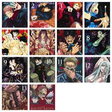 Jujutsu Kaisen Japanese Comic Book Manga Comics JUMP official anime guide New