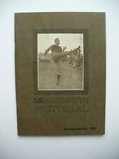 RARE DARTMOUTH COLLEGE PICTORIAL FOOTBALL BOOK, EXCELLENT CONDITION