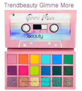 Trendbeauty Gimme More Eyeshadow Palette - Glitter & Matte Colors * AUTHENTIC *