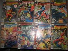 Spider woman Marvel Bronze age 41 comic collection lot set 2-50 mostly 8.5