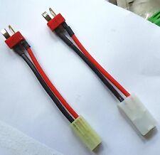 Conector del adaptador de batería de alambre de Airsoft Tamiya Grande Pequeño conjunto de Decanos Femenino Masculino